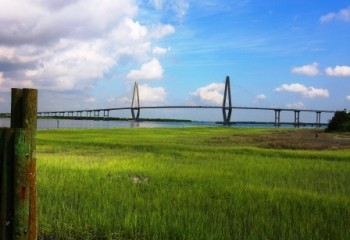 All kinds of trash can become caught in the tall marsh grasses around the Ravenel Bridge and the Surfrider Foundation could use your help in cleaning it up.