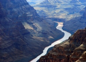 """The Colorado River, which irrigates nearly four million acres of farmland, earned the #1 spot this year on American Rivers' """"America's Most Endangered Rivers"""" list. Here it is cutting through the Grand Canyon, but the river is so over-tapped that it now dries to a trickle before it reaches the sea.   iStockPhoto"""