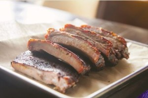 Home Team BBQ's ribs have won awards and accolades from several national publications, including Saveur, Esquire, and Southern Living. Photo by F. Joe Felder