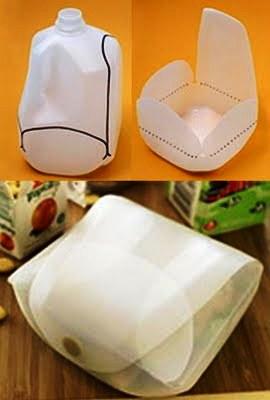 milk jug lunch box