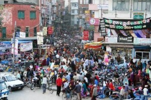 The jury is still out as to whether human overpopulation will become a footnote in history or the dominant ill that stands in the way of all other efforts to achieve sustainability and a kinder, gentler world. Pictured: A crowded street in Kathmandu, Nepal. Photo by Pavel Novak